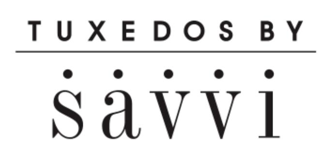 Tuxedos by Savvi logo