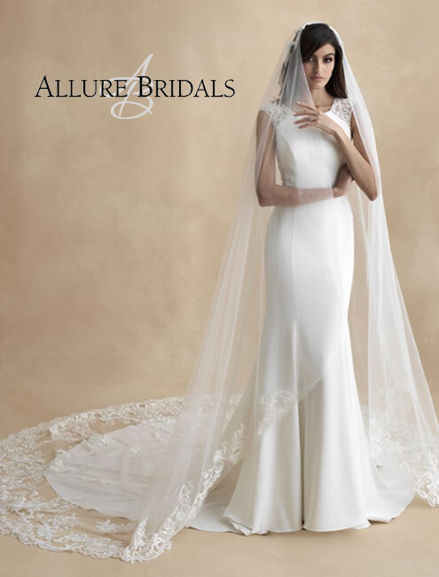 allure bridal accessories and veils