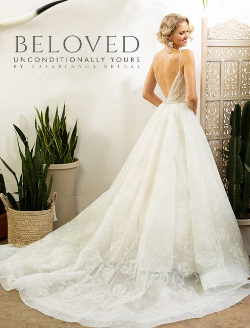 beloved by casablanca wedding dresses