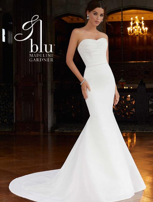 blu bridal line by madeline gardner