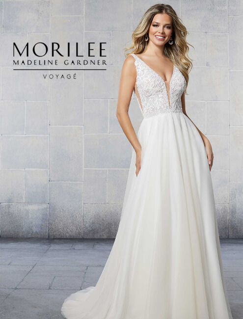 morilee voyage line wedding dress